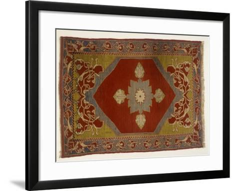 Rugs and Carpets: Turkey - Melas Carpet--Framed Art Print