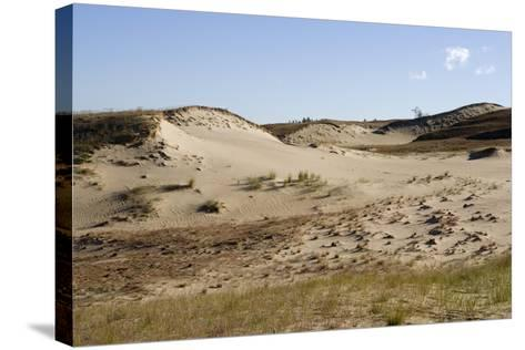 Lithuania, Klaipeda County, Curonian Spit, Vecekrugas, Grey Dune--Stretched Canvas Print