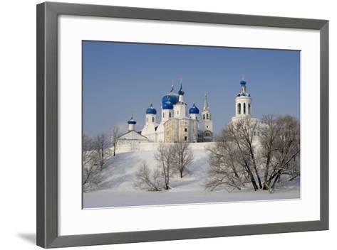 Russia, Golden Ring, Bogolyubov, Cathedral of Nativity of Virgin--Framed Art Print