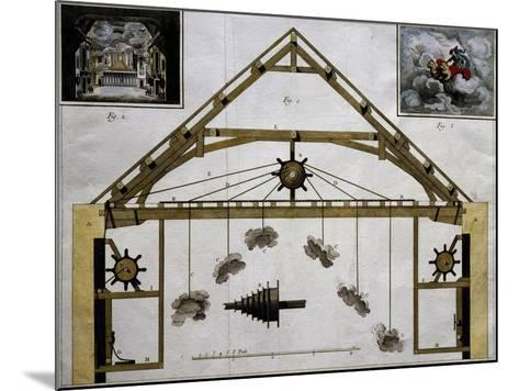 Theatre Machinery for Plays, France--Mounted Giclee Print