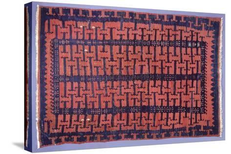 Rugs and Carpets: Turkey - Anatolia - Kilim Carpet--Stretched Canvas Print