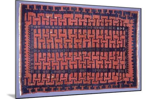 Rugs and Carpets: Turkey - Anatolia - Kilim Carpet--Mounted Giclee Print