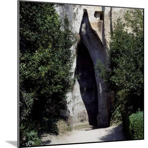 Ear of Dionysius, Syracuse, Sicily, Italy--Mounted Giclee Print