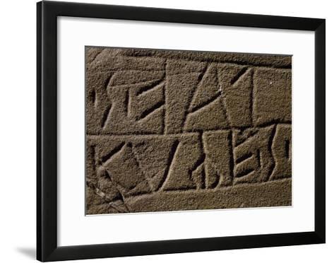 Registration of Euganean Population, Italian Civilization, 4th-2nd Century BC--Framed Art Print