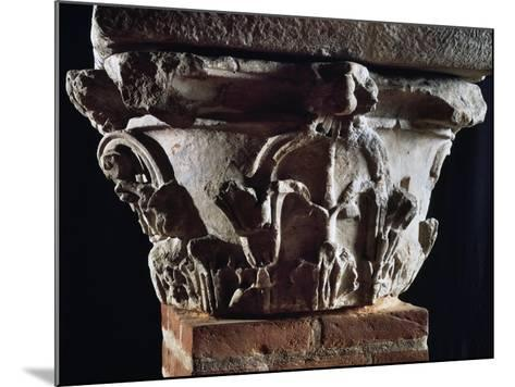 Corinthian Capital with Dosseret--Mounted Giclee Print