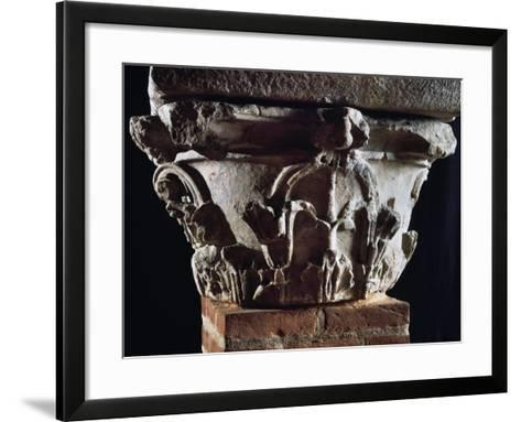 Corinthian Capital with Dosseret--Framed Art Print