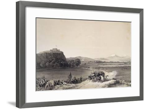 The Defence of the Castle of Chapultepec Against the Americans in 1847--Framed Art Print