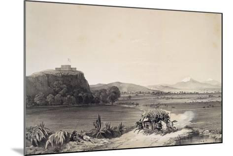 The Defence of the Castle of Chapultepec Against the Americans in 1847--Mounted Giclee Print