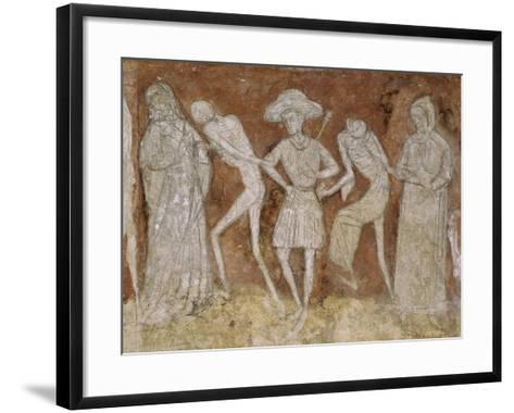 A Canon and a Pair of Castellani Surrounded by Death--Framed Art Print