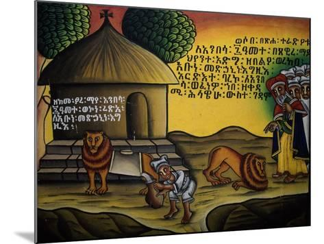 Sacred Scene, Church of Our Lady Mary of Zion, Axum, Tigray, Ethiopia--Mounted Giclee Print
