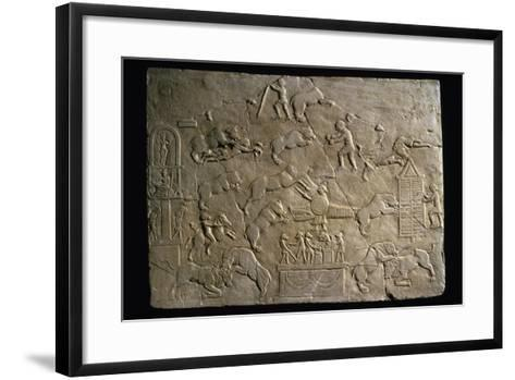 Circus Scenes, Bas-Relief--Framed Art Print
