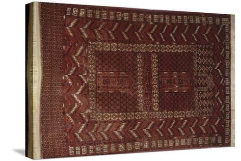 Rugs and Carpets: Russia - Turkestan - Ensi Carpet--Stretched Canvas Print