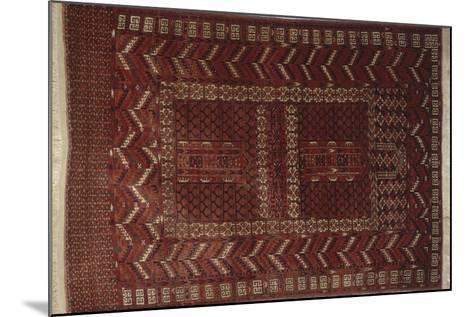 Rugs and Carpets: Russia - Turkestan - Ensi Carpet--Mounted Giclee Print