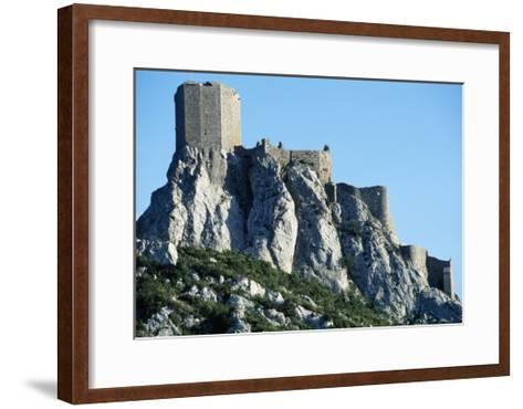 Queribus Castle, Perpignan, Languedoc-Roussillon, France, 13th-16th Century--Framed Art Print