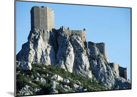 Queribus Castle, Perpignan, Languedoc-Roussillon, France, 13th-16th Century--Mounted Giclee Print