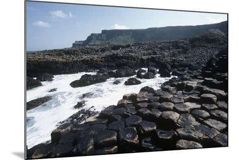 UK, Northern Ireland, County Antrim, Prismatic Basalt Columns of Giant's Causeway--Mounted Giclee Print