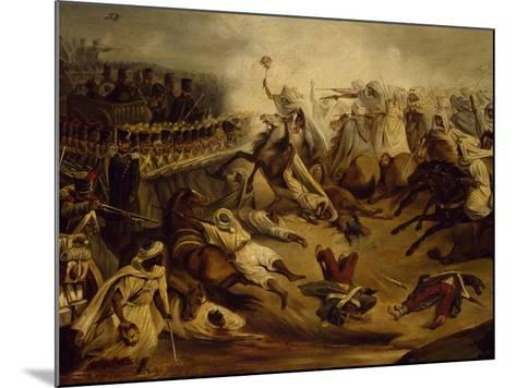 Algerian Counterattack at Constantine During Colonial Wars, November 1837--Mounted Giclee Print