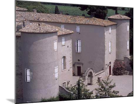 View of Chateau De Lezignan-Le-Cebe, Languedoc-Roussillon, France--Mounted Giclee Print