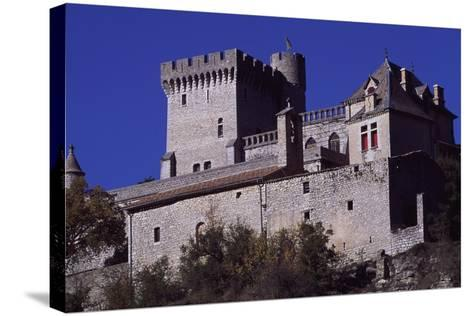View of Chateau De Aulan, Rhone-Alpes, France, 12th Century--Stretched Canvas Print