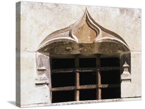 Architectural Detail from Chateau De Clerans, Saint-Leon-Sur-Vezere, Aquitaine, France--Stretched Canvas Print