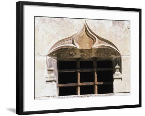 Architectural Detail from Chateau De Clerans, Saint-Leon-Sur-Vezere, Aquitaine, France--Framed Art Print
