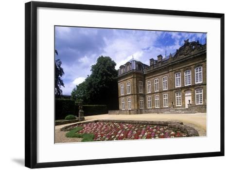 France, Champagne-Ardenne, Bazeilles Castle--Framed Art Print