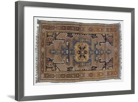 Rugs and Carpets: Azerbaijan - Gumul Carpet--Framed Art Print
