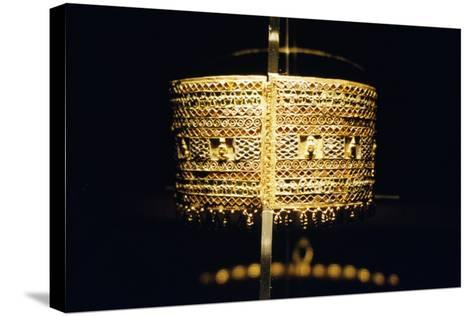 Gold Bracelet, from the Treasure of Queen Amanishakheto--Stretched Canvas Print