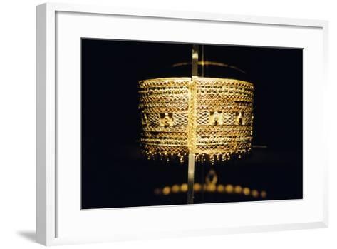 Gold Bracelet, from the Treasure of Queen Amanishakheto--Framed Art Print