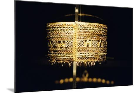 Gold Bracelet, from the Treasure of Queen Amanishakheto--Mounted Giclee Print