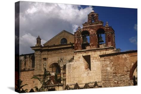 Dominican Republic, Santo Domingo, Cathedral of Santa Mar?a La Menor--Stretched Canvas Print