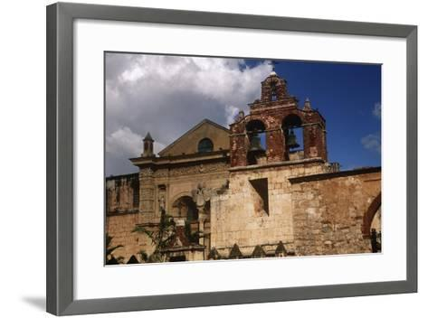 Dominican Republic, Santo Domingo, Cathedral of Santa Mar?a La Menor--Framed Art Print