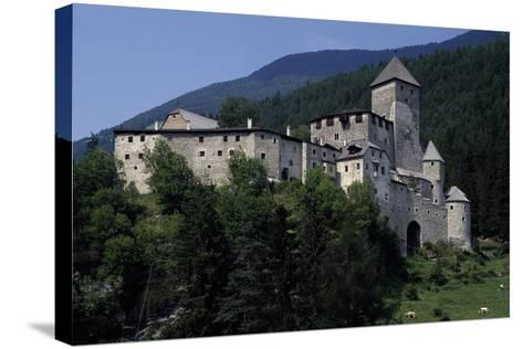 Taufers or Tures Castle, Near Taufers, Tures Valley, Trentino-Alto Adige, Italy, 13th-16th Century--Stretched Canvas Print