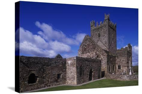 Jerpoint Abbey, Dating Back to 1158, County Kilkenny, Ireland--Stretched Canvas Print