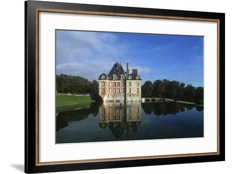 France, Ile-De-France, Ormesson-Sur-Marne, Castle of Ormesson, 16th Century--Framed Art Print