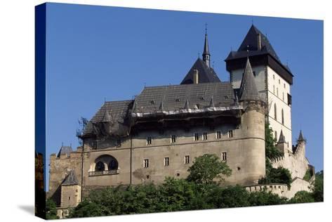 Czech Republic, Krivoklat Castle--Stretched Canvas Print