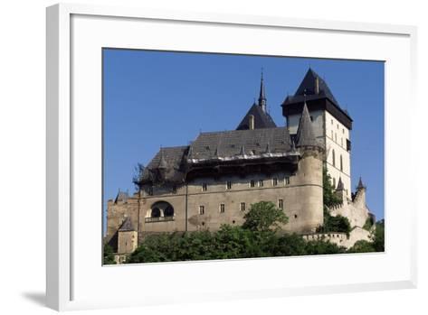Czech Republic, Krivoklat Castle--Framed Art Print