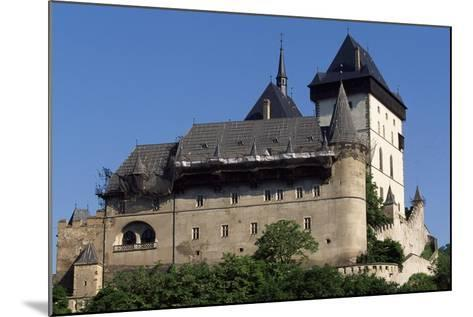 Czech Republic, Krivoklat Castle--Mounted Giclee Print