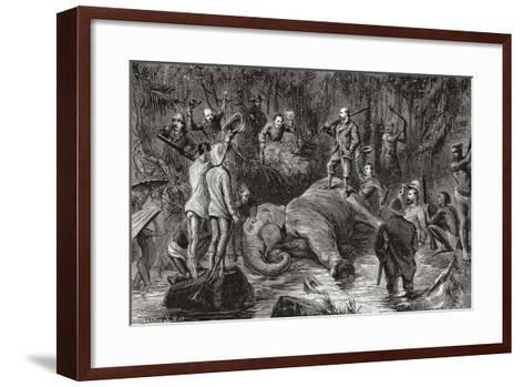 Albert Edward Prince of Wales, Future King Edward VII, 1841-912--Framed Art Print