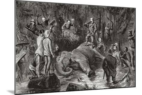 Albert Edward Prince of Wales, Future King Edward VII, 1841-912--Mounted Giclee Print