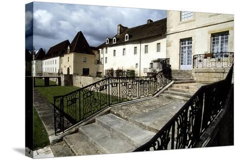 View of Chateau Gilly-Les-Citeaux, Burgundy, France, 16th Century--Stretched Canvas Print