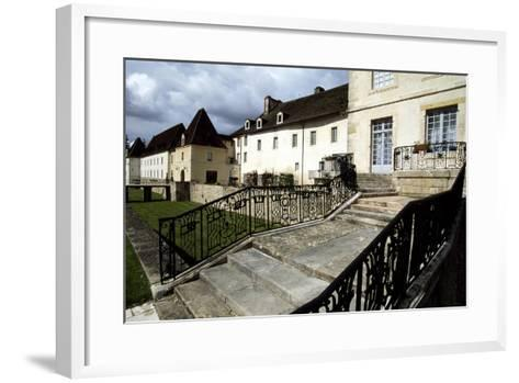 View of Chateau Gilly-Les-Citeaux, Burgundy, France, 16th Century--Framed Art Print