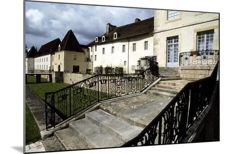 View of Chateau Gilly-Les-Citeaux, Burgundy, France, 16th Century--Mounted Giclee Print