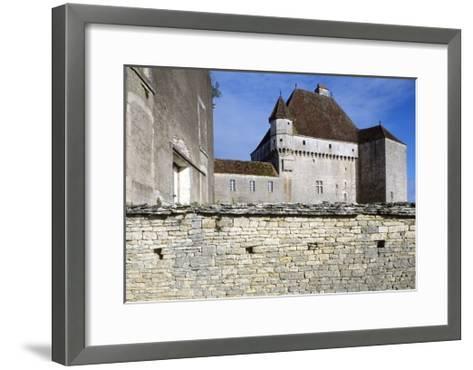 View of Chateau De Rosieres, Near Saint-Seine-Sur-Vingeanne, Burgundy, France, 14th-15th Century--Framed Art Print