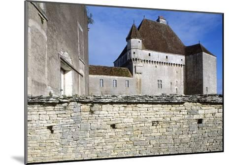 View of Chateau De Rosieres, Near Saint-Seine-Sur-Vingeanne, Burgundy, France, 14th-15th Century--Mounted Giclee Print