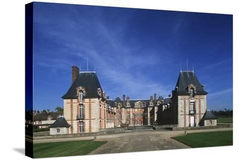 France, Ile-De-France, 16th Century Grosbois Castle--Stretched Canvas Print