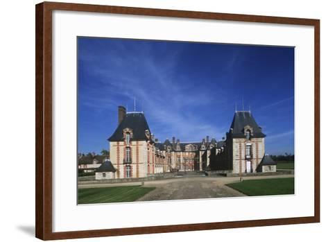 France, Ile-De-France, 16th Century Grosbois Castle--Framed Art Print