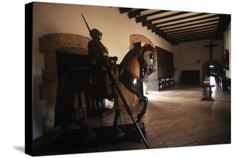 Dominican Republic, Santo Domingo, Alcazar De Colon, Interior--Stretched Canvas Print
