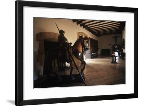 Dominican Republic, Santo Domingo, Alcazar De Colon, Interior--Framed Art Print