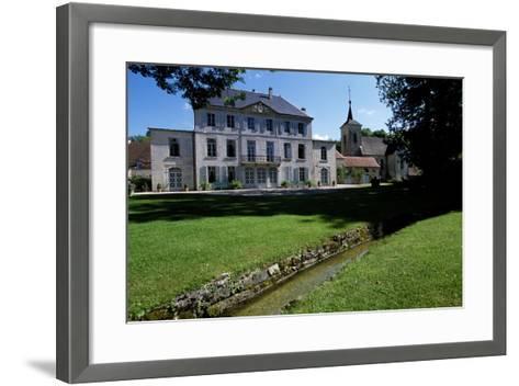 View of Chateau De Salans, Franche-Comte, France--Framed Art Print